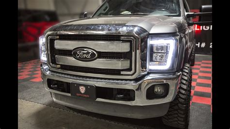 Led F R Auto by Spyder Auto Installation 2008 2016 Ford F250 Led