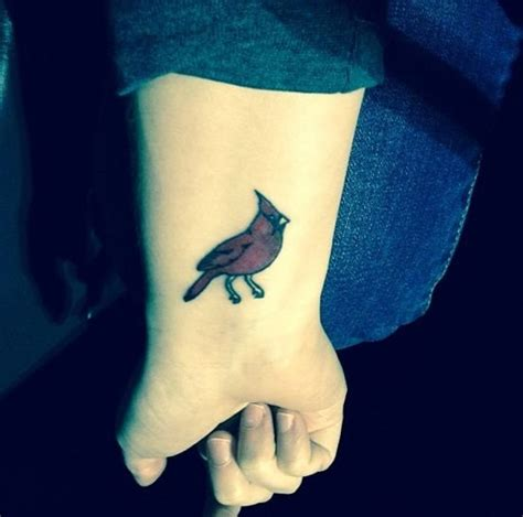 small cardinal tattoo cardinal tattoos designs ideas and meaning tattoos for you