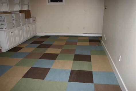 carpet tiles for basement floors rubber floor tiles rubber floor tiles at home depot