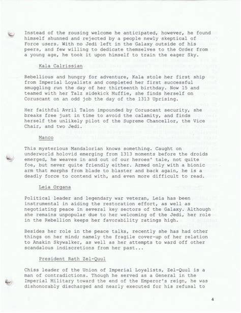 A Place Script Pdf New Wars Reclamation Series Holds Clues To Episode Vii Geektyrant