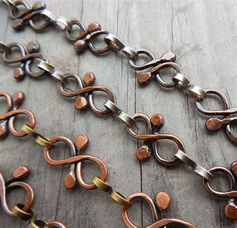 Handmade Chain Designs - how to make your own chains without soldering the
