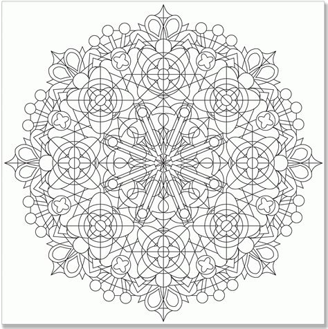 printable kaleidoscope coloring pages for adults kaleidoscope coloring page coloring home