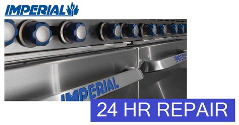 imperial commercial oven pilot light commercial oven repair az