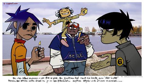 Cracker House by Comic Gorillaz Fan Art 18879338 Fanpop Page 8