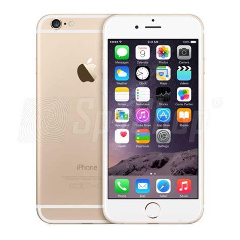 iphone 6 128gb z programem spyphone ios podsłuch szpiegowskiego telefonu