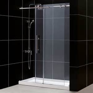 dreamline sliding shower doors dreamline dl 662 enigma x fully frameless sliding shower