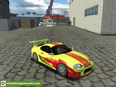 mod game haulin 18 wos haulin toyota supracar simulator games mods