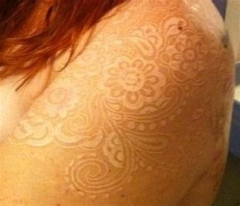 white lace tattoo white ink tattoos this looks sooo on skin color