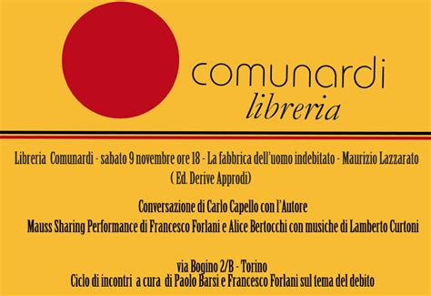 libreria comunardi torino indypendentemente the others nazione indiana