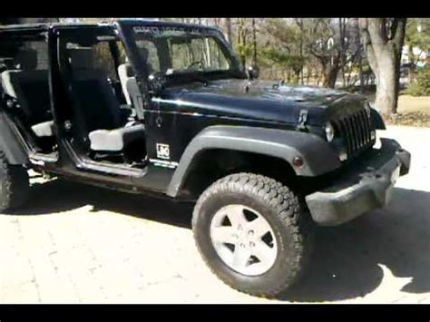 No Door Jeep 2009 Jeep Wrangler Unlimited No Doors Walk Around