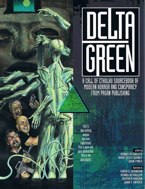 Delta Green state of the brian sammons cthulhu reborn