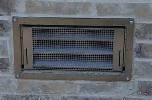 garage door vents install for flood vents
