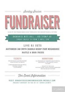fundraiser poster template sunday session fundraiser event flyer proudly bought to