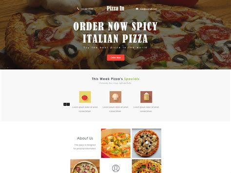bootstrap restaurant template top 10 best free restaurant bootstrap templates in 2017