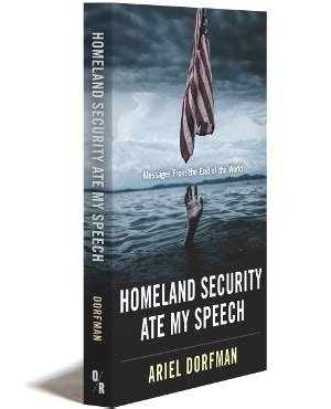 homeland security ate my speech messages from the end of the world books or books a new type of publishing company