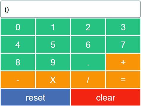 calculator using javascript javascript calculator source code c java php