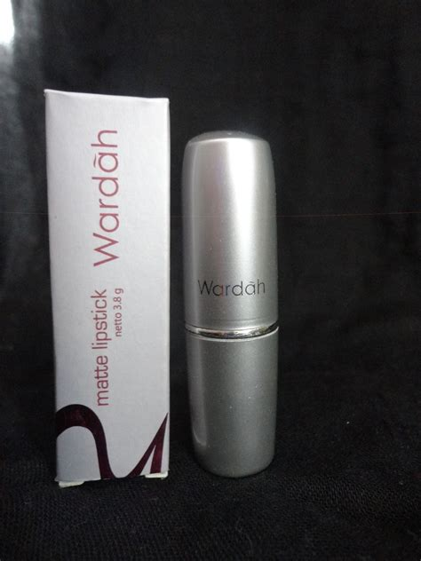 Wardah Matte Lipstick No 4 makeupningrumium review wardah matte lipstick quot no 4 orange quot