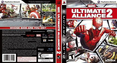 Bd Ps3 Kaset Marvel Ultimate Alliance blus30294 marvel ultimate alliance 2