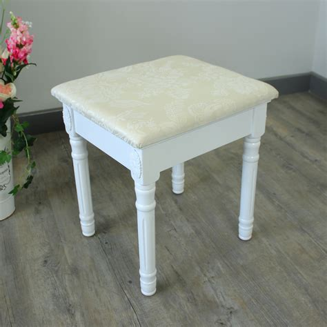 Wooden Dressing Table Stool by White Wooden Dressing Table Set Mirror Stool Shabby Chic Bedroom Ebay