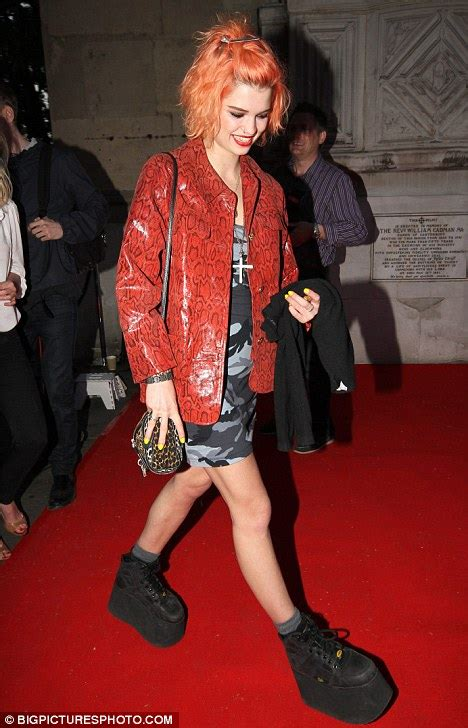 The Spice Are Backand Not A Platform Trainer In Sight by Pixie Geldof Attempts To Revive The Buffalo Boots Trend At