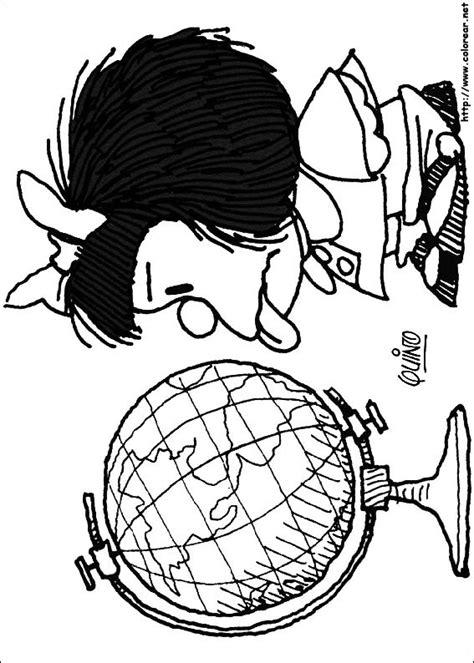 imagenes de halloween mafalda dibujos para colorear de mafalda