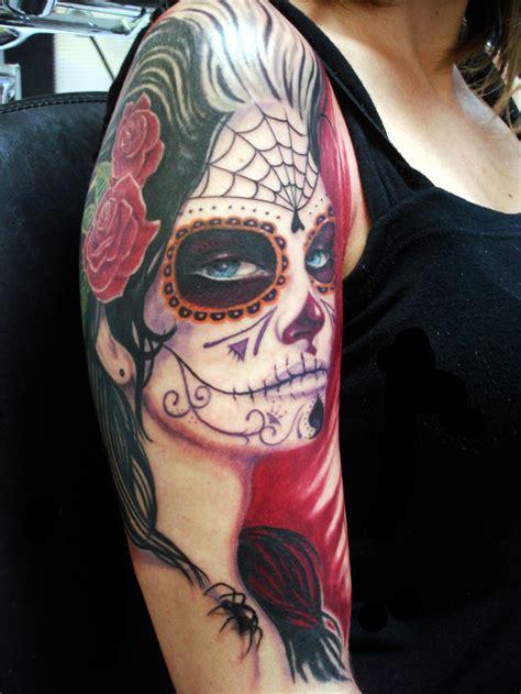 imagenes tatuajes catrinas catrina mexicana tatuajes para mujeres