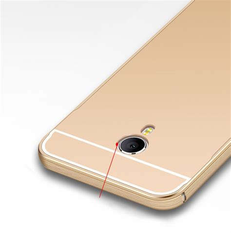 Bumper Aluminium With Backcase For Meizu M2 Note Original meizu m2 note metal frame with back cover phone shell