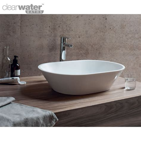 countertop bathroom basins clearwater sontuoso natural stone countertop basin uk