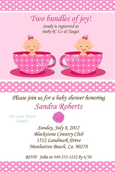 baby shower invitations templates for twins top collection of twins baby shower invites theruntime com