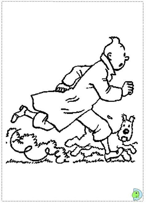 tintin coloring pages az coloring pages