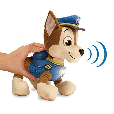 paw patrol lights and sounds paw patrol deluxe lights and sounds plush real talking