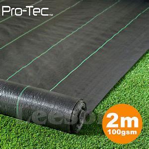 Landscape Fabric Wide 2m X 25m 100g Fabric Ground Cover Membrane