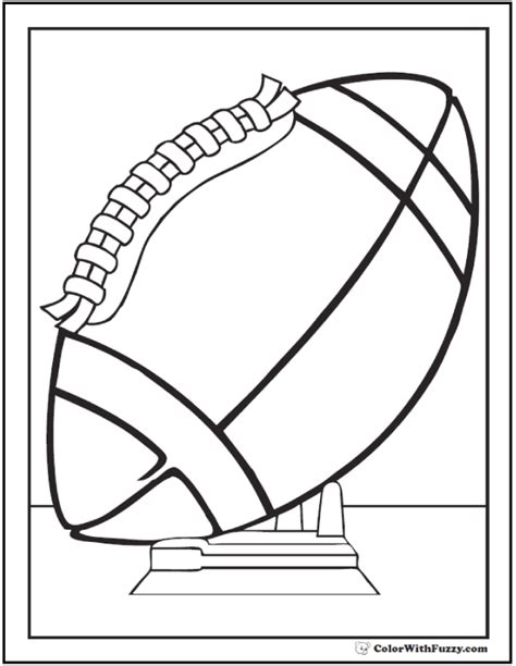 football coloring page pdf football coloring pages customize and print pdf print