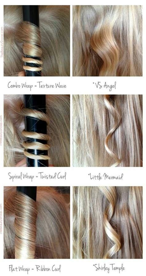 what are the different types of hair with pictures here s how to achieve different kinds of curls with your