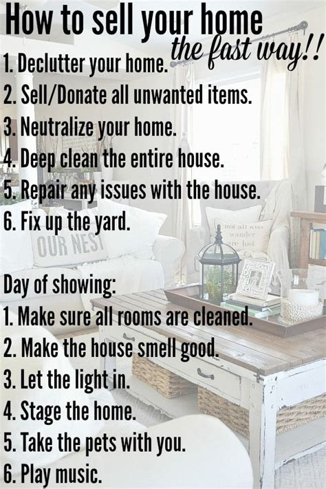best 20 home selling tips ideas on