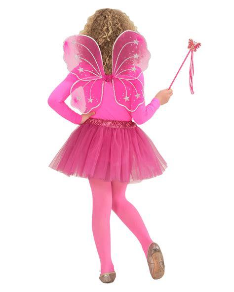 Butterfly Set Pink butterfly set neon pink 3 pcs magic
