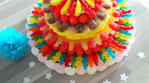 Decoration De Gateau Avec Des Bonbons by Les G 226 Teaux De Bonbons En Folie