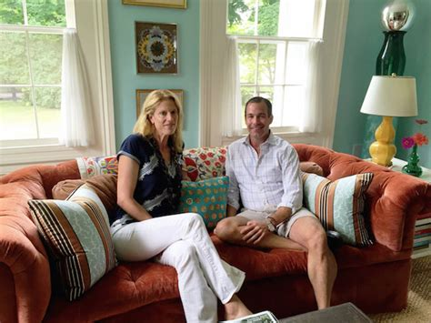 christopher spitzmiller at home with susanna salk and christopher spitzmiller