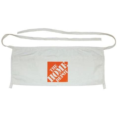 the home depot canvas work apron hd324655 the home depot