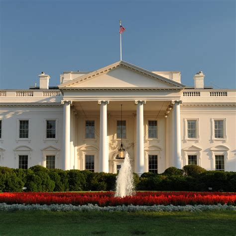 Facts About The White House by White House Facts For Official Residence Of The Us