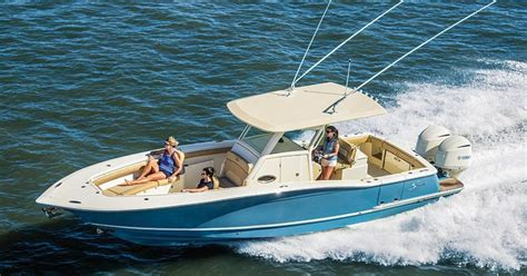 scout boats europe scout 320 lxf 2018 boat buyers guide sport fishing magazine