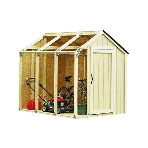 hopkins xbasics  shed kit peak style roof gardens