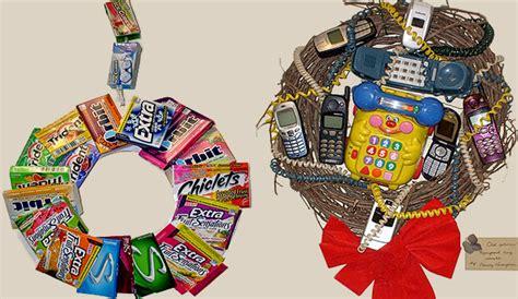 imagenes navideñas reciclaje coronas de navidad resultonas con material reciclado