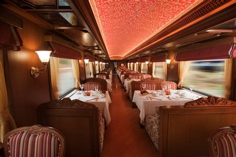 luxury trains of india maharajas express a luxury train in india