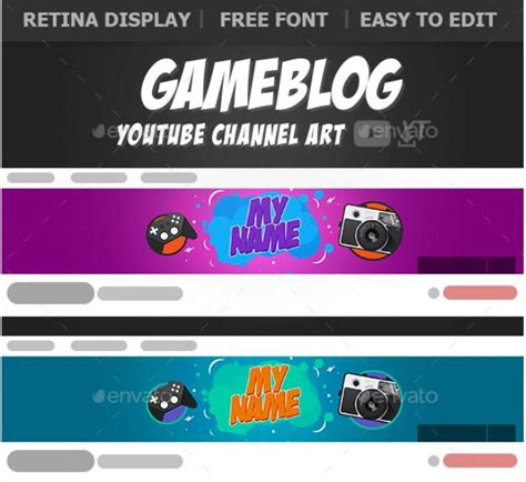 40 Youtube Banner Template Psd For Channel Art Texty Cafe Banner Template Psd 2018