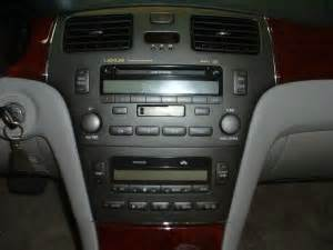 2003 lexus es300 aftermarket stereo question clublexus