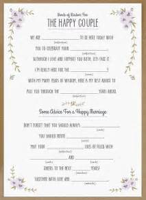 wedding libs template wedding mad libs template