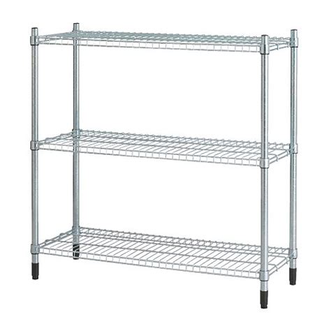 Metal Rack Ikea | ikea metal shelving unit garage shop greenhouse racking ebay