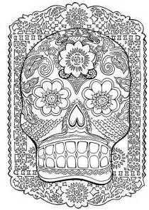 Coloriages adultes gt coloriages adultes tatouages gt tatouage t 234 te de