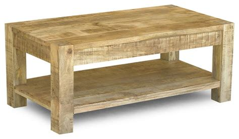 c chef c table with legs 38 reclaimed mango wood coffee table with shelf eclectic